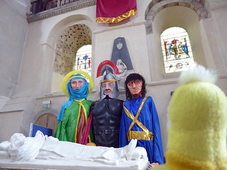 Swami and friends at St. Albans