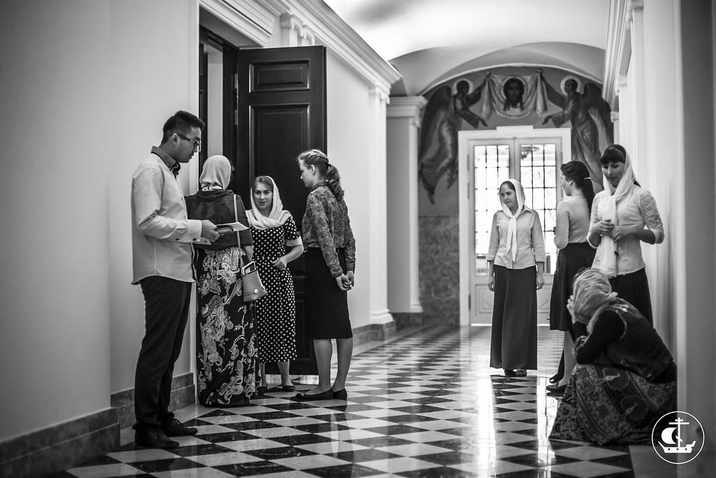 11 августа 2015, Вступительные экзамены на регентское отделение. День 2 / 11 August 2015, Entrance examination for choir department. Day 2
