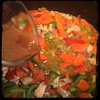 #Homemade Thai-Influenced Chicken & Veggies #CucinaDelloZio - add remaining marinade