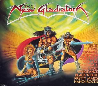 "NEW GLADIATORS VA HEAVY METAL COMPILATION 12"" LP VINYL"