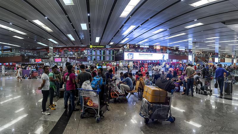 Встречаем 2017.  Аэропорт Чанги.