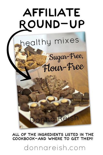 Sugar-Free Flour-Free Affiliate Round Up
