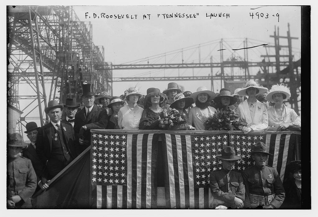 F.D. Roosevelt at