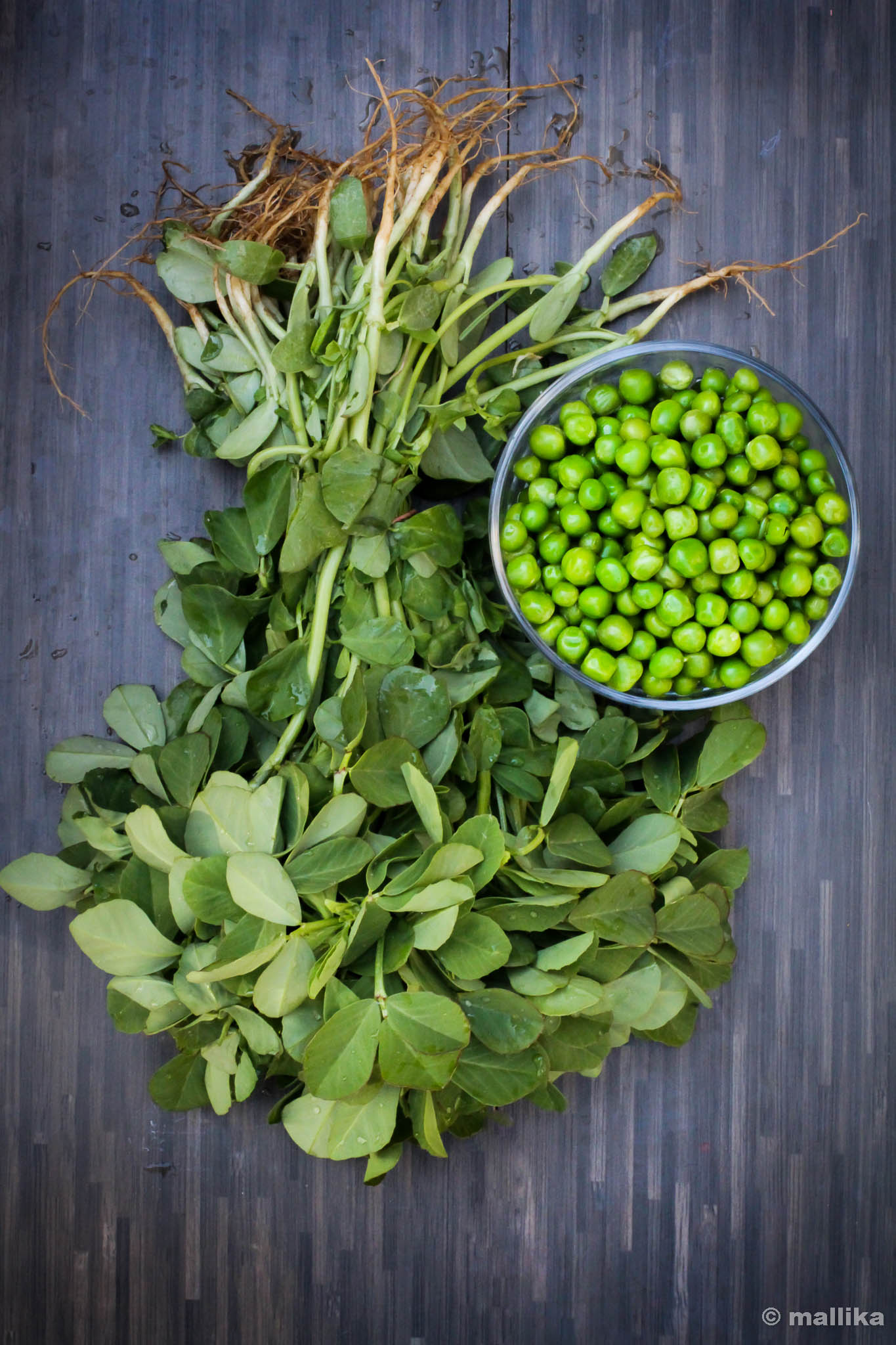 Fenugreek and Peas