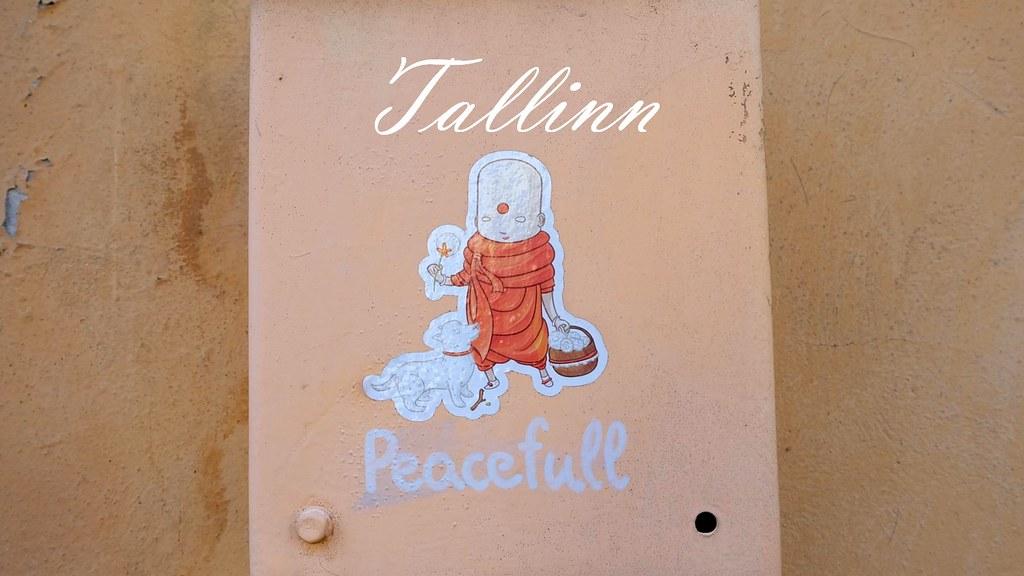 Peacefull Tallinn Cover