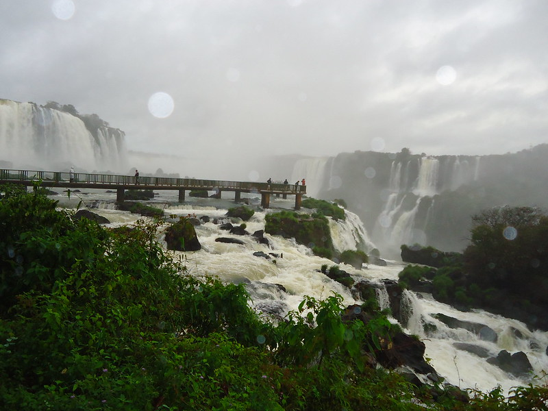 Iguazú, lado de Brasil