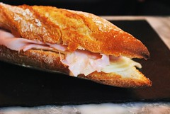 fish(0.0), meal(1.0), baked goods(1.0), ciabatta(1.0), food(1.0), dish(1.0), cuisine(1.0), baguette(1.0),