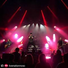 #Repost @livenationncsc with #Shinedown is KILLING IT tonight at #OvensAuditorium !! #Charlotte #CLT #LiveNationNCSC