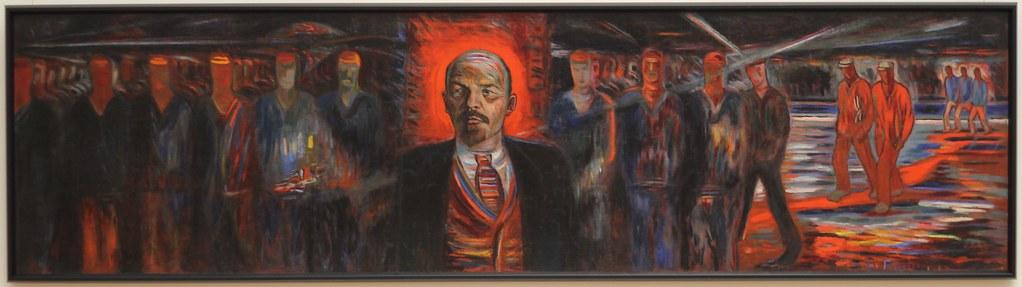 Ленин - вождь пролетариата. 1929. Голополосов Борис Александрович