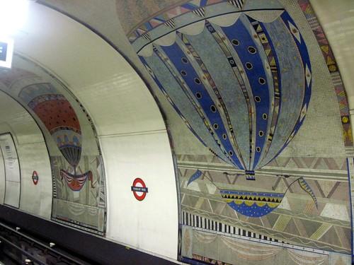 Finsbury Park Station Mosaics