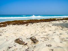 A view from Marlín Beach to the Caribbean Sea - Strand am Karibischen Meer