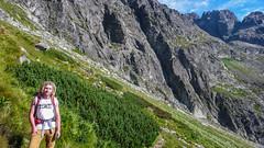 Kristian na szlaku z Granatów, w tle Filar Staszla