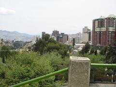 La Paz Bolivia, contrastes del dia