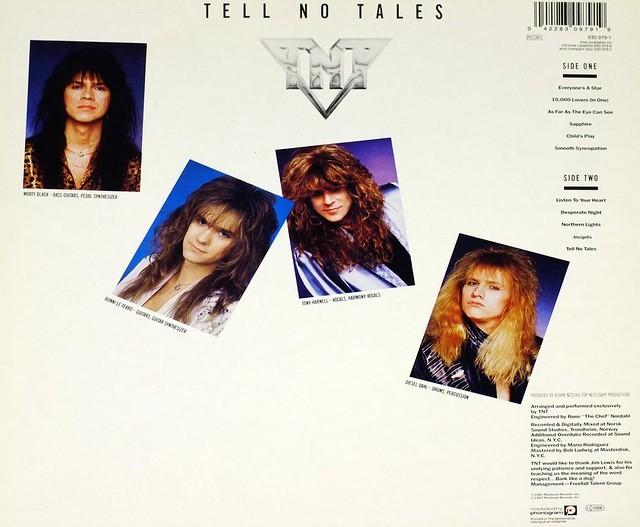 "TNT TELL NO TALES 12"" LP VINYL"
