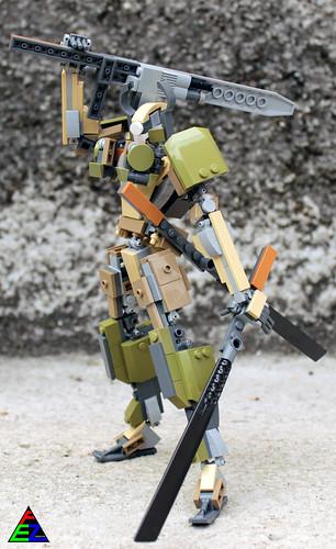 Lego Samurai Mecha