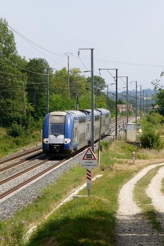 TER 2N NG près de Cessieu