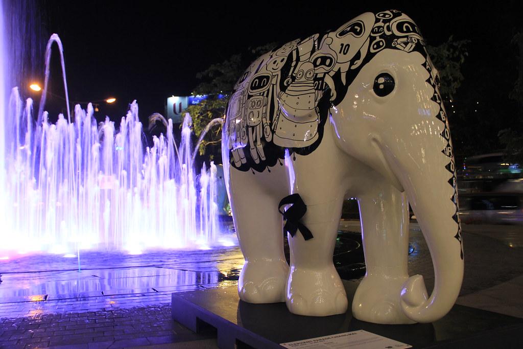 Elephant Parade, Nimmanhaemin Road