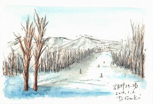 富良野スキー旅行