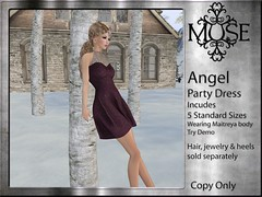 [MUSE] Angel Party Dress - V8
