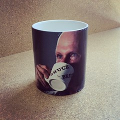 My new favorite mug #BruceNauman #BirthdayGift #ProductionStill
