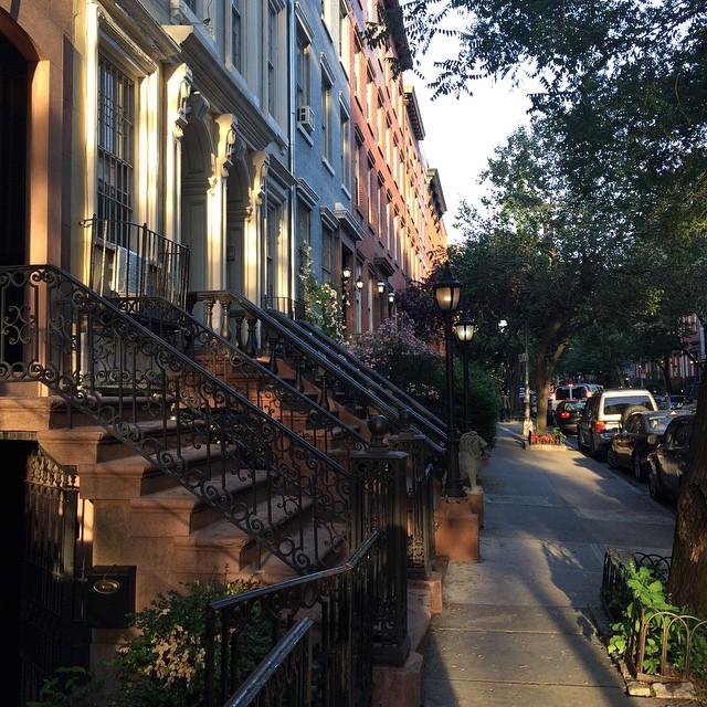 Typisk fantastisk gata i Chelsea.