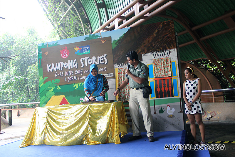 Kampong Stories stage games and activities