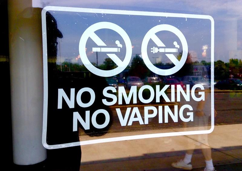No Vaping