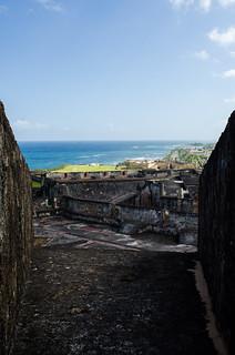 Image of Castillo San Cristóbal near San Juan. puertorico fort sanjuan pr castillodesancristóbal