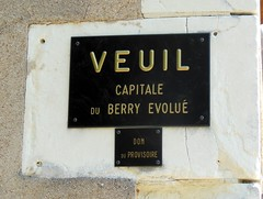 VEUIL : Capitale du Berry évolué - Photo of Langé