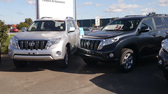 automobile, automotive exterior, toyota, sport utility vehicle, vehicle, compact sport utility vehicle, toyota land cruiser prado, bumper, toyota land cruiser, land vehicle,