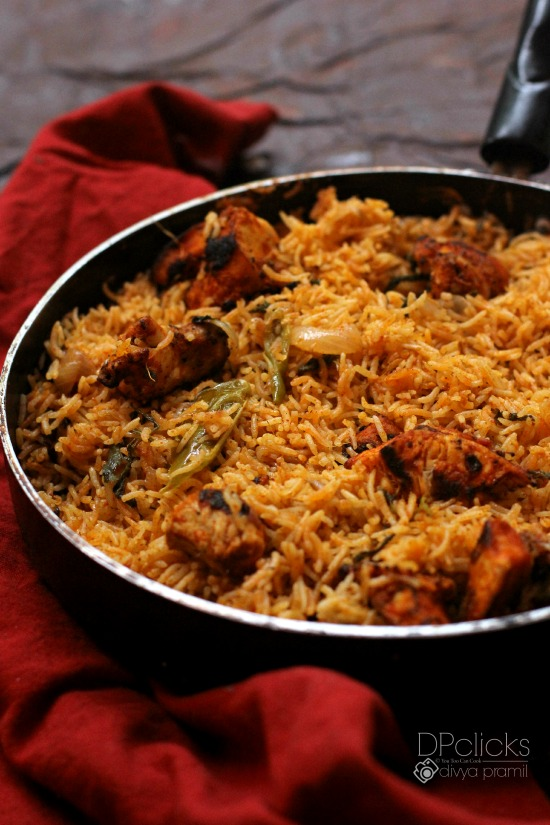 Chicken Tikka Biryani | How To Make Chicken Tikka Biryani ...