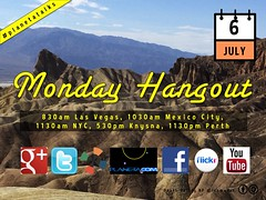 July 6 Monday Hangout