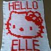 HELLO KITTY BLANKET FOR ELLE