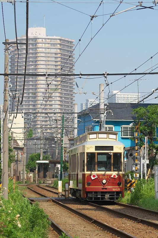 Tokyo Train Story 都電荒川線 2015年7月20日