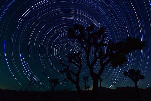 D810a Star Trails (17 shots)