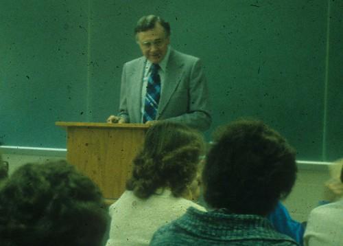 1981-82Strubhar, Prof John in classroom