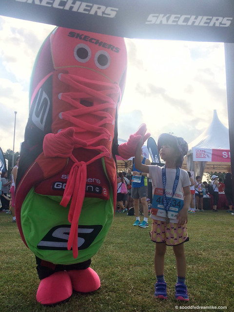 So Oddly Dreamlike | Singapore Parenting and lifestyle blog | Shape Run 2015 with Skechers | Go like never before!