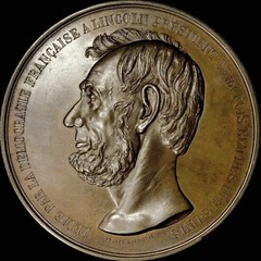 9-01-O Lincoln medal