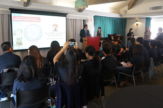 July 27 '15 Xiamen University Delegation Attends SDSU Student Affairs Introduction
