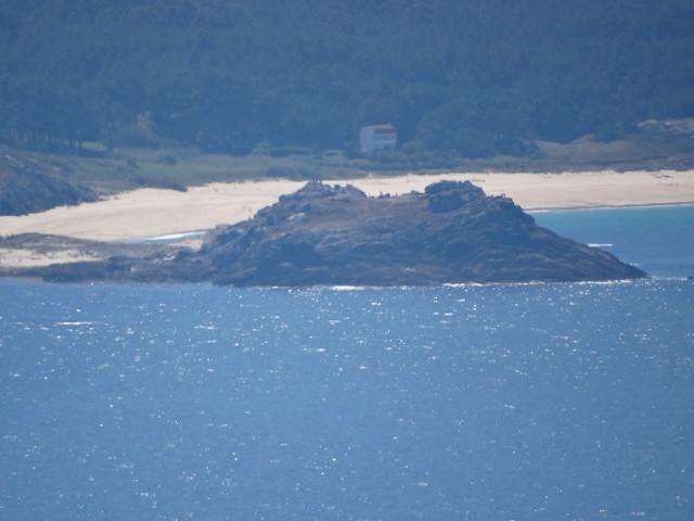 Castro de Baroña desde Monte Louro