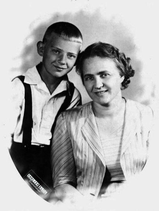 苏联名人家庭照片22