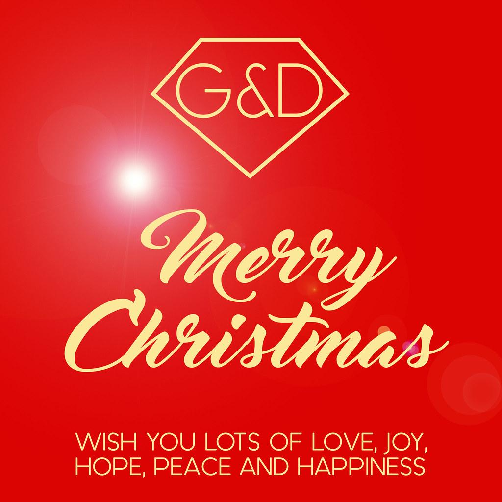 G&D Merry Christmas - SecondLifeHub.com