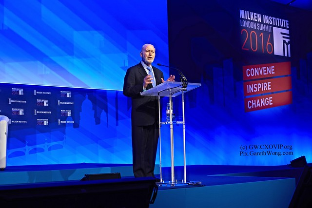 Mike Klowden CEO, Milken Institute Welcome