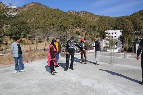 Her Holiness visits at newly construction of Sant Nirankari Satsang Bhawan