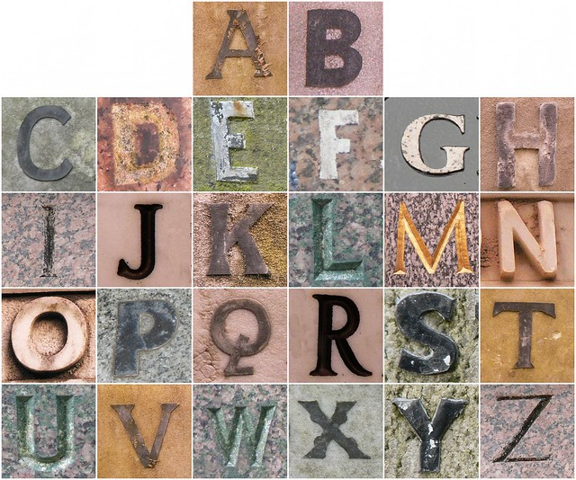 Highgate Cemetery Alphabet