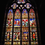 origins of stained glass
