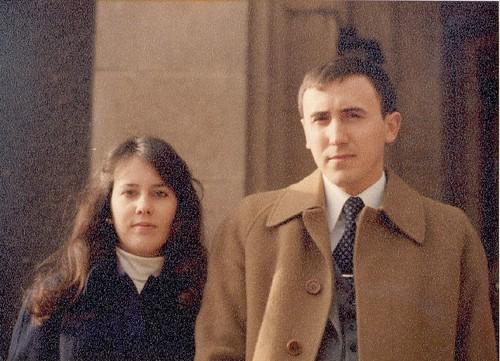 Carmen y Mikel, hacia 1977