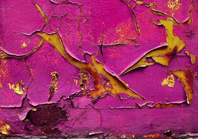pink paint peeling