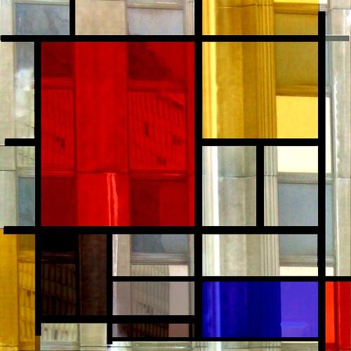 Lksdesign piet mondrian composition for Picture window design layout