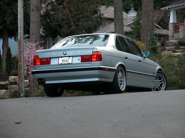 95 Bmw 540i M Sport As The New Owner Drove Away By